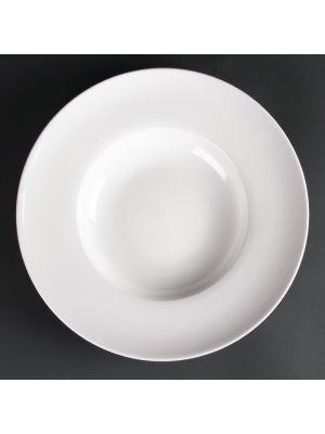 LUMINA Fine China Pasta/Soup Bowls 310mm (6 Pack)