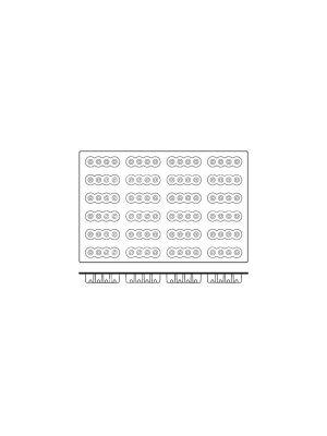 FRENTI Silicon Mould - Fourzero 117 x 33 x 34mm