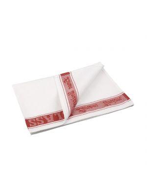 VOGUE Red Glass Cloth